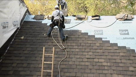 How To Install Shingles and Step Flashing