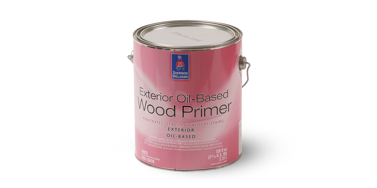 Sherwin Williams Exterior Oil Based Wood Primer
