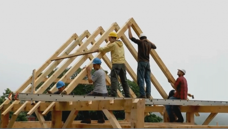 building a timber frame video