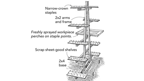 A-Frame Drying Rack