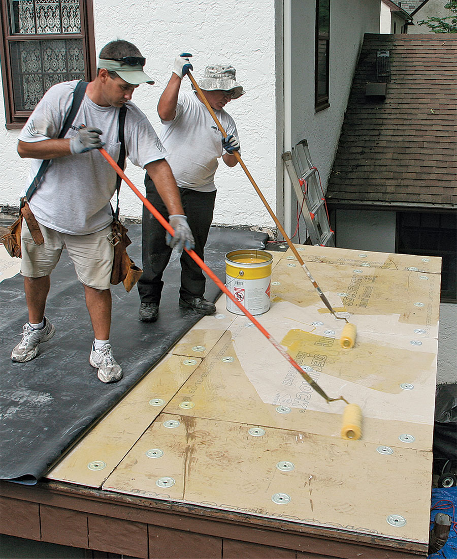 adhesive for epdm roof