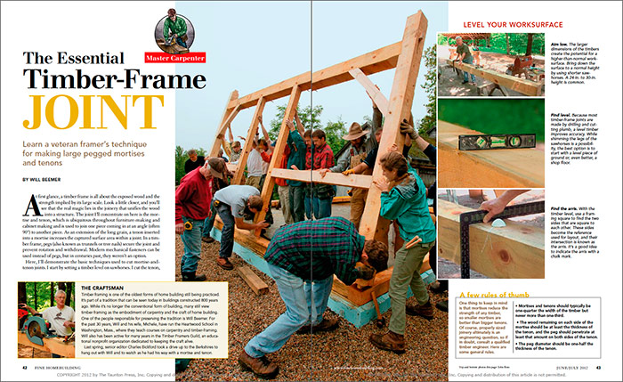 The Essential Timber-Frame Joint