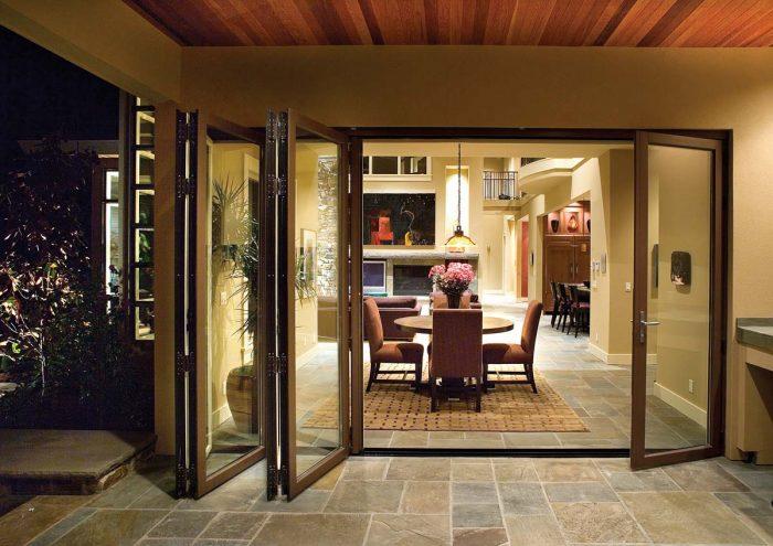 foldaway doors