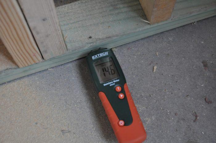 Pressure treated wood reading