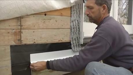installing a deck ledger