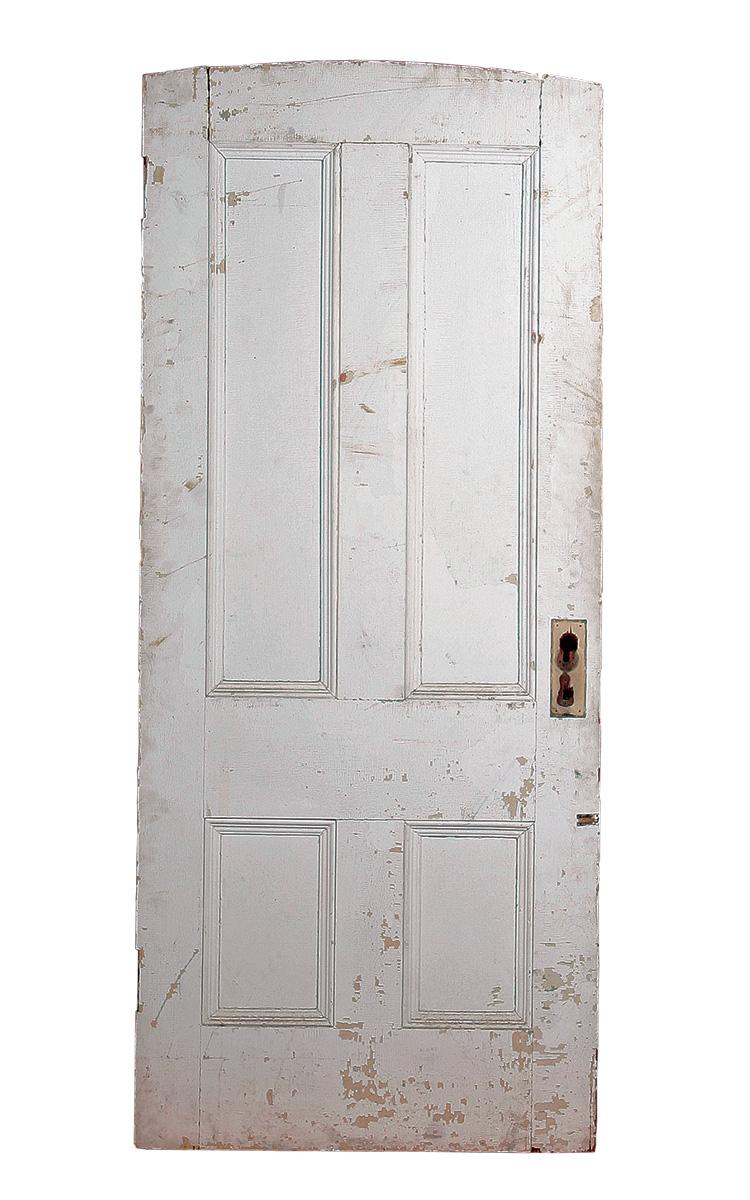door with old paint