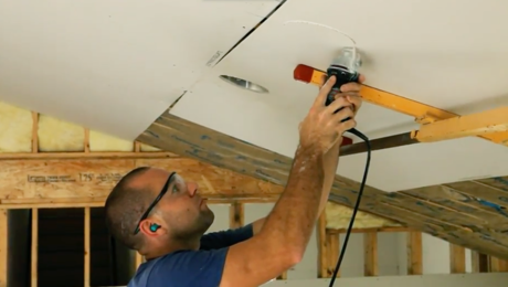 Install And Finish Drywall 9 Rules For Hanging A Vaulted Ceiling Fine Homebuilding