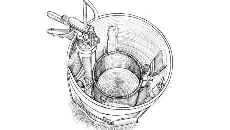 tool bucket for painters