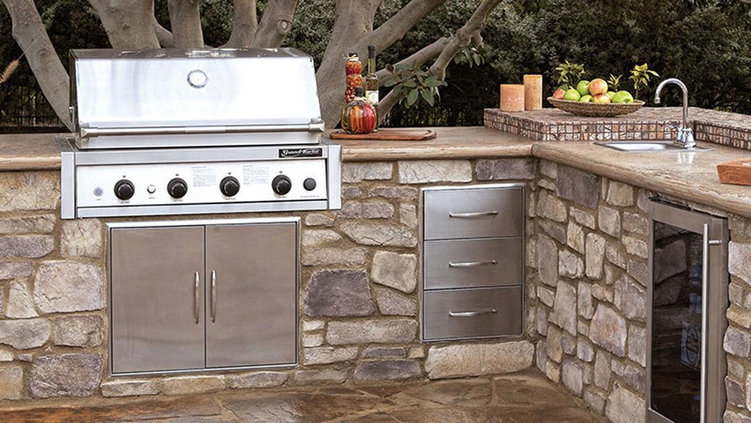 Outdoor Kitchen Modular Kits Fine Homebuilding