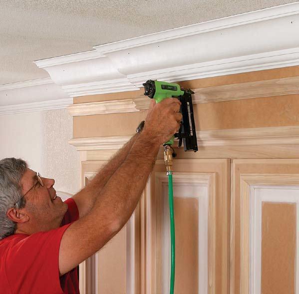 Crown Molding For Kitchen Cabinets Fine Homebuilding