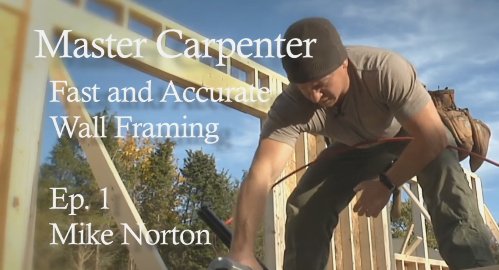 Master Carpenter: Fast and Accurate Wall Framing - Fine Homebuilding