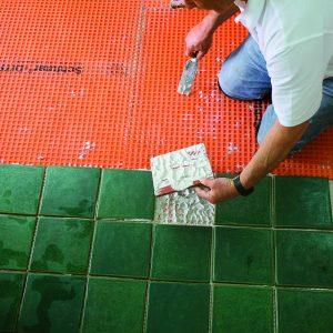 check tile bond