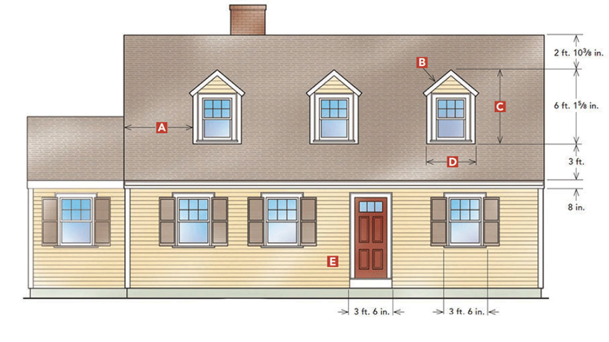 gable dormers for a 1940s Cape