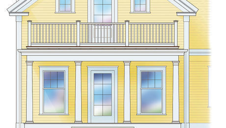 A Porch with a Rooftop Deck - Fine Homebuilding