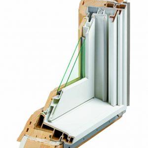 A-Series Double-Hung Window cutaway