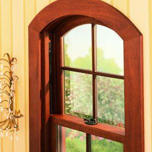 Window with lock