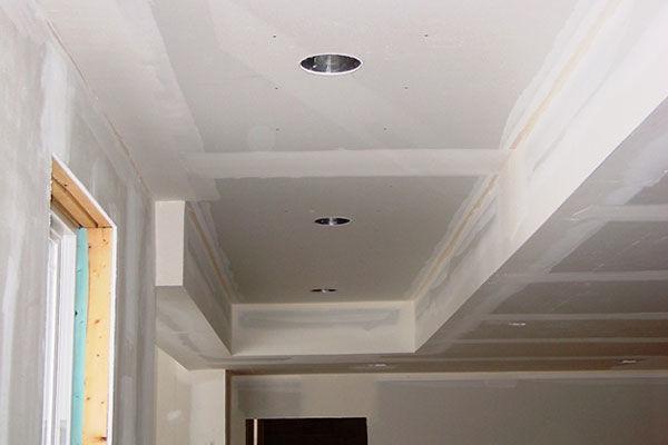 drywall ceilings look cleaner