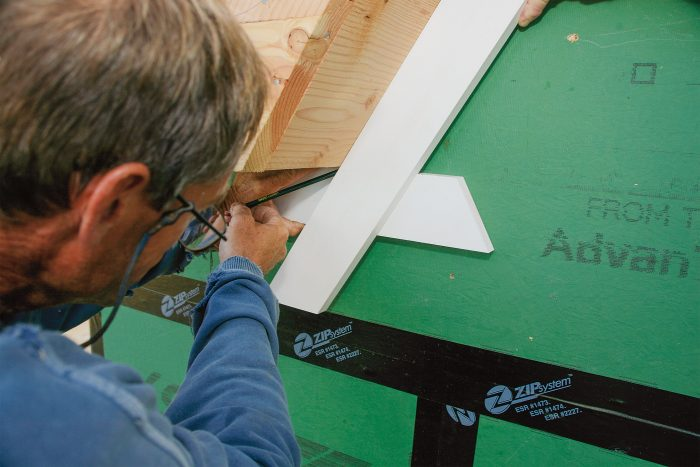 get accurate miters and bevels without special tools
