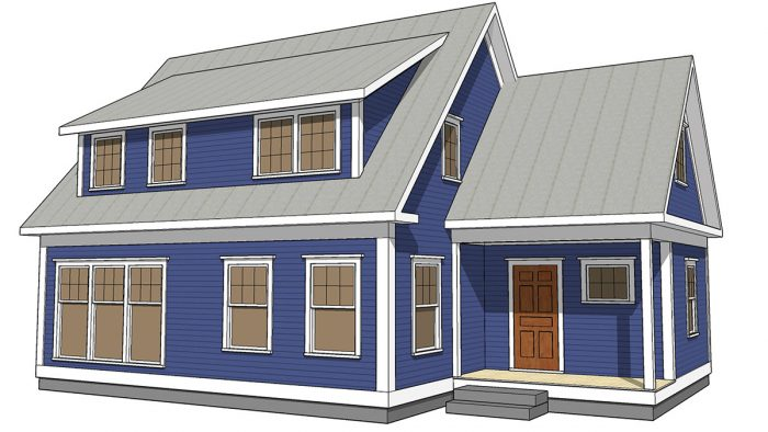 Making Shed Dormers Work - Fine Homebuilding on french house plans with dormers, small house plans with dormers, country home plans with dormers,