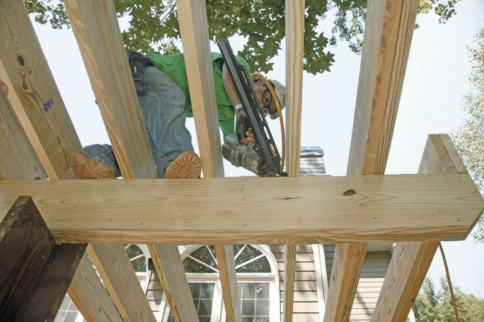 How Far Can A Deck Beam Span Fine Homebuilding