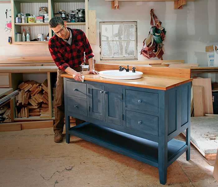 Build Your Own Bathroom Vanity Fine Homebuilding