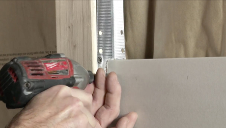Metal Corner Bead Substitutes for Drywall Clips