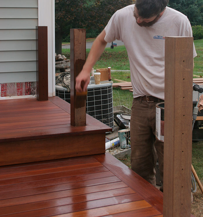 Tropical hardwoods such as ipé make the most beautiful decking, and as such, they deserve proper care