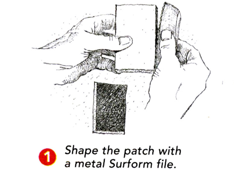 shape the patch