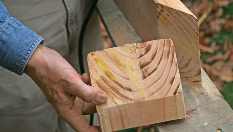 Cutting an Acute Bevel