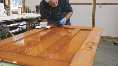 Ordinaire Finishing An Exterior Door, Ep. 7: Applying The Varnish   Fine Homebuilding
