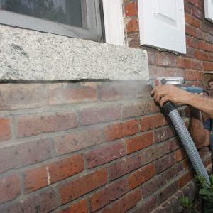 tuck point grinder for horiztonal joints