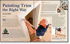 Painting Trim the Right Way