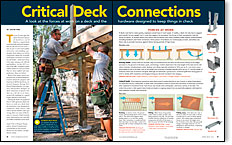 Critical Deck Connections