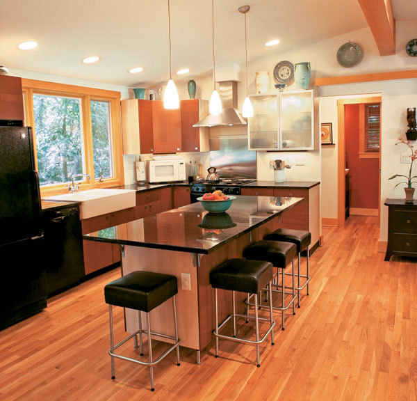 A 4848 Kitchen Remodel Fine Homebuilding Beauteous Raleigh Kitchen Remodel Model Interior