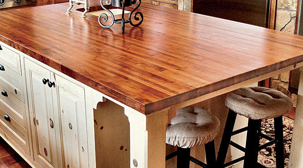 Synopsis: Although The Beauty Of A Well Crafted Wood Countertop Is Obvious,  Its Durability Is Not. Dan Vos, A Custom Woodworker Who Specializes In ...