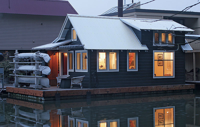 A Small House Thats Designed to Float Fine Homebuilding