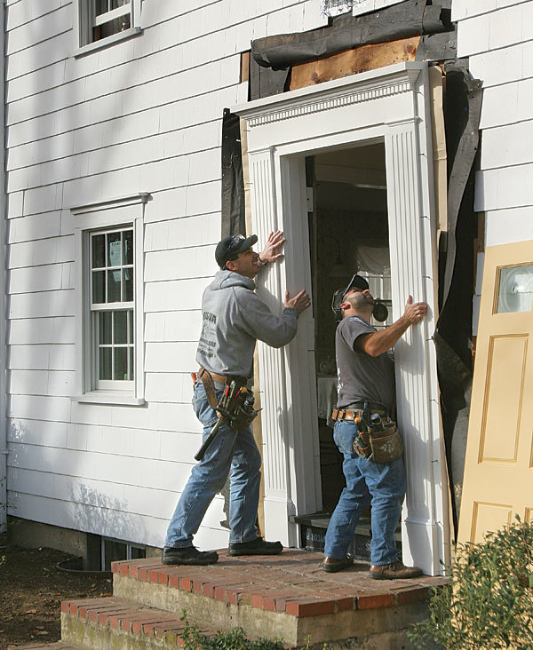 Replace An Old Entry Door Fine Homebuilding