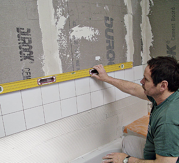 Tile Backerboard Options Fine Homebuilding - Cement based backer board