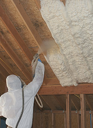 Buyers guide to insulation spray foam fine homebuilding buyers guide to insulation spray foam solutioingenieria Choice Image