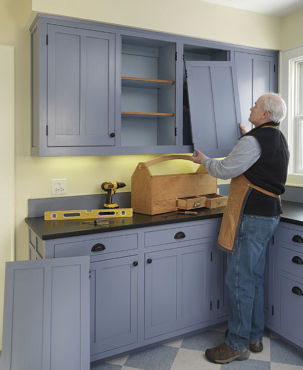 Kitchen Cabinet Install: How To Install Inset Cabinet Doors