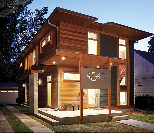 A Modern Modular At Home In Minneapolis Fine Homebuilding Simple Architect Designed Modular Homes Remodelling