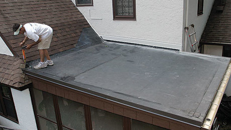 Installing A Low Slope Epdm Roof Fine Homebuilding