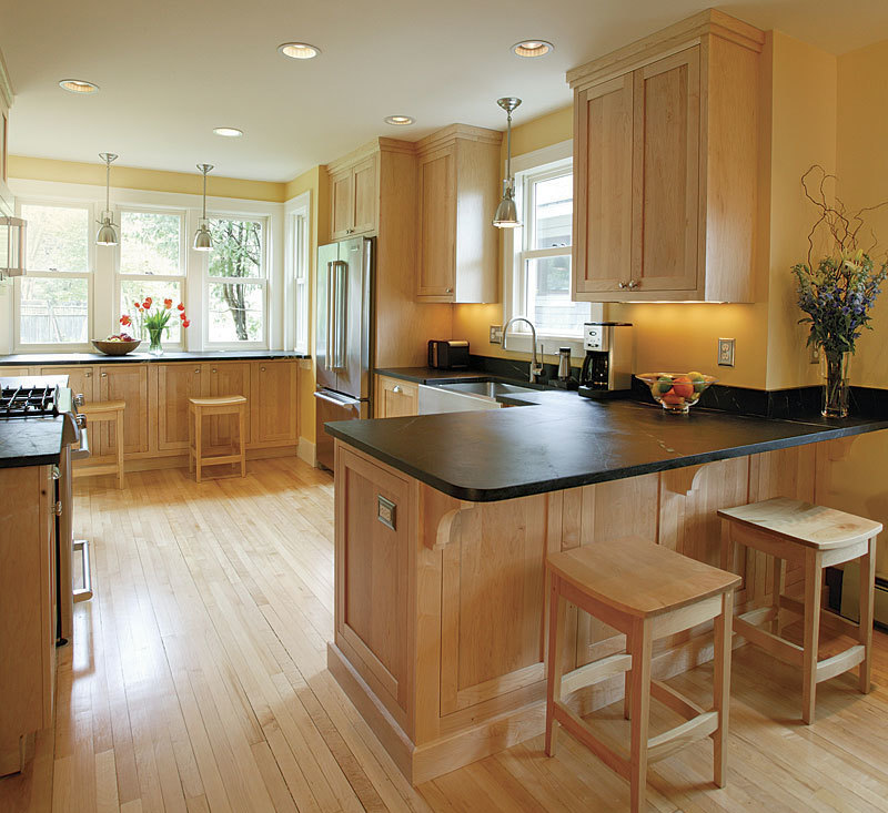 Kitchen Remodel With Dining Room Addition: A Small Addition Transforms A Kitchen