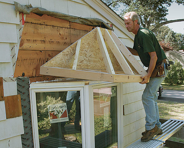 how to install a bay window part 1 fine homebuilding