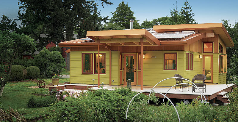 Tiny Home Designs: Best Small Home: A Garden Cottage For Low-Impact Living