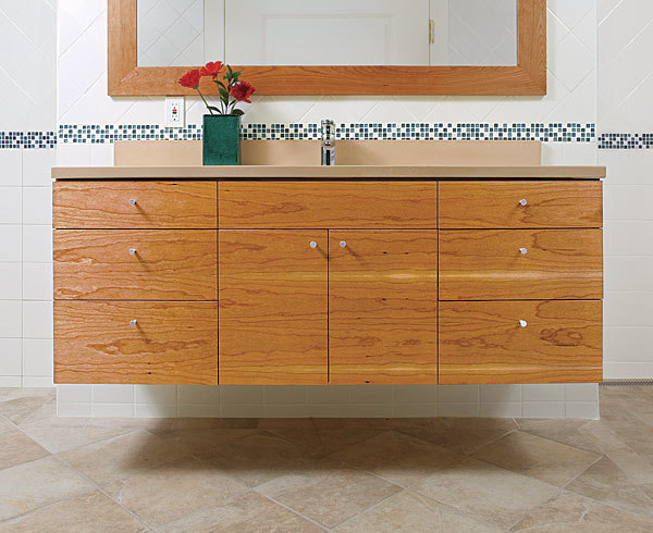 Build A Floating Vanity Fine Homebuilding