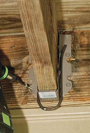 Make An Old Deck Safe Fine Homebuilding