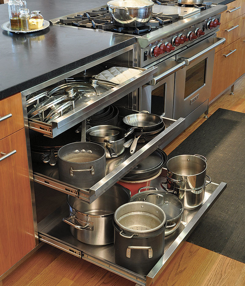 Inside Chefs Kitchens Fine Homebuilding