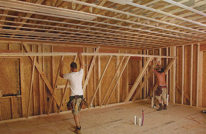 The Passive House Build Part Four Framing For Efficiency