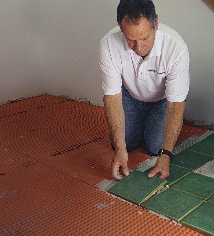 Project House High Traffic Tile Floor Fine Homebuilding